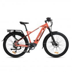 Overfly rower trekkingowy Bolt pomarańcz-czarny